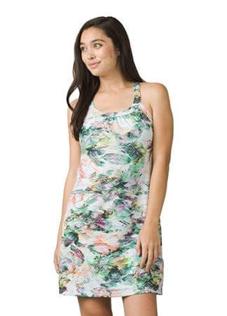 Prana Kobiety ubierają Cantine Dress White Grace ful (rozmiar S)