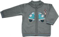 EKO chlapčenský sveter s autom