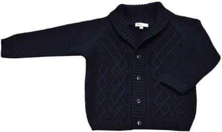 EKO chlapecký svetr 98 tmavě modrá
