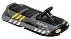 HAMAX Hó bob szánkó Sno Police - szürke/fekete