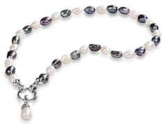 JwL Luxury Pearls Náhrdelník z pravých perál v dvoch odtieňoch JL0316