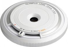 Olympus 15 mm M.ZUIKO Digital f/8,0, biela