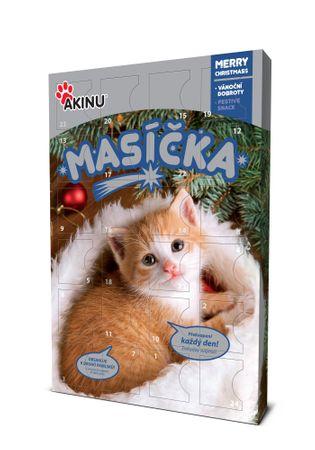 Akinu kalendarz adwentowy dla kotów PRZYSMAKI MIĘSNE 240g