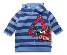 Gelati fantovska majica z motivom bagra
