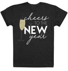 Christmas T-shirt ženska majica s kratkim rukavima Cheers To The New Year