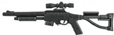 Teddies Pistole laserová 66 cm + terč se světlem a zvukem