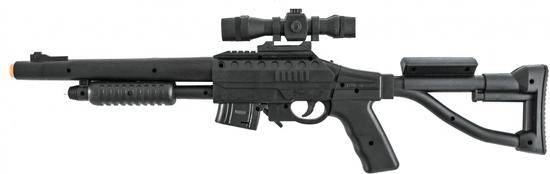 Teddies Pištoľ laserová 66 cm + terč so svetlom a zvukom