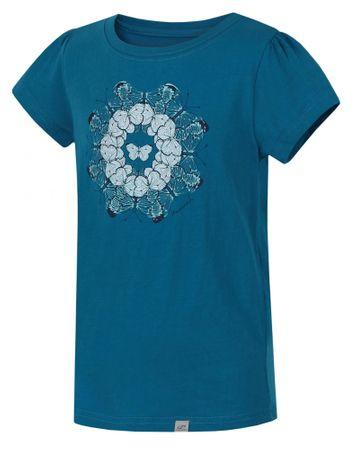 Hannah dekliška majica s kratkimi rokavi Poppy JR, 152, modra