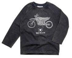 Gelati fantovska majica z motivom motorja
