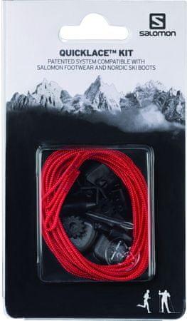 Salomon vezice Quicklace Kit Red