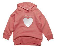 Gelati dekliška majica z motivom srca