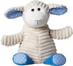 Warmies otroški termofor s sivko, ovčka, bež/modra