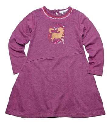 Gelati dívčí šaty 98 fialová