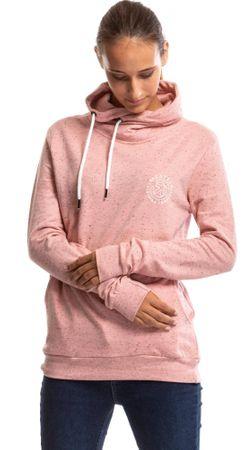 MEATFLY női pulóver Mei Hoodie S rózsaszín