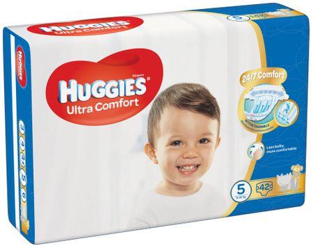 Huggies Ultra Comfort 5 Jumbo (12-22 kg) 42 db