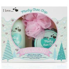 I Love Cosmetics Darčeková sada s vôňou mäty Minty Choc Chip (Delicious Duo)