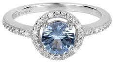 Silver Cat Očarljiv prstan s kristali SC293 srebro 925/1000