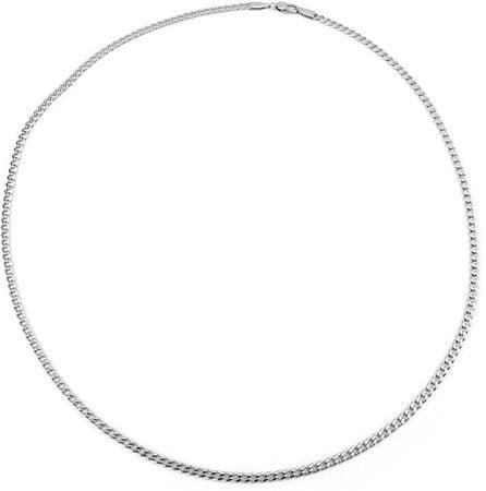 Silvego Pánský stříbrný řetízek Pancr TTT80GDN (Délka 60 cm) stříbro 925/1000