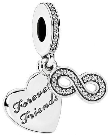 Pandora MedálForever Friends 791948CZ ezüst 925/1000