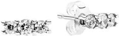 Pandora Drobné náušnice s kryštálmi 290725CZ striebro 925/1000
