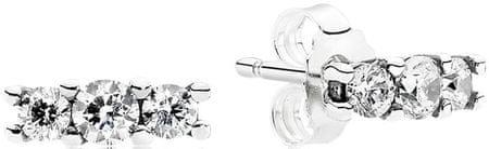 Pandora Apró fülbevaló kristályokkal díszítve 290725CZ ezüst 925/1000