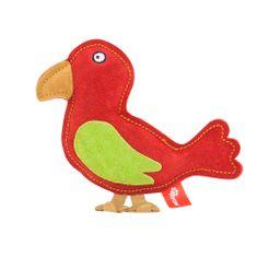 Akinu hračka vtáčik PREMIUM koža červená