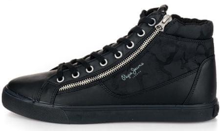 Pepe Jeans férfi boka sportcipő Marton Boot 41 fekete
