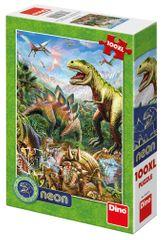DINO svijet dinosaura 100XL neon