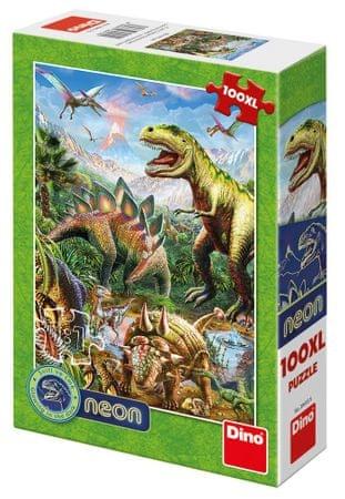 Dino Svet dinozavrov 100XL neon