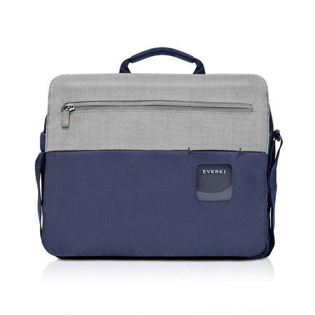 """Everki torba na laptopa CONTEMPRO SHOULDER BAG 14,1"""" niebieska BAGBR-EVR-CPSB-14NV"""