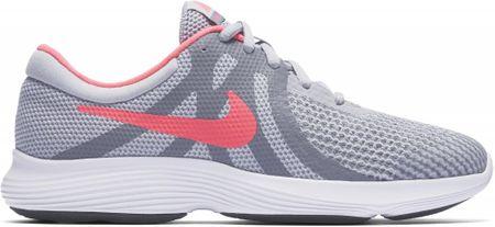 Nike dívčí tenisky Revolution 4 (GS) Running Shoe 36,5 šedá