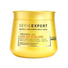 Loreal Professionnel Obnavljajoča maska za poškodovane lase Série Expert ( Solar Sublime Mask) 250 ml