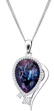 Preciosa Elegantna ogrlica Ines Matrix 6110 26 (veriga, obesek) srebro 925/1000