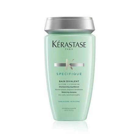 Kérastase Bain Divalent kiegyensúlyozó sampon zsíros fejbőrre és gyengített hajra (Balancing Shampoo Oily Root