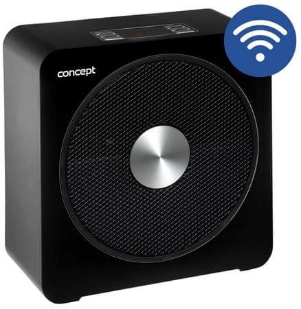 CONCEPT VT5010 WIFI hősugárzó, fekete