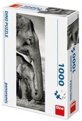 DINO Elefántos panoramic 1000 darabos