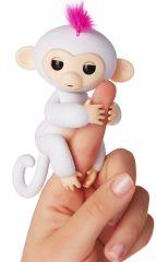 WowWee Fingerlings -Opička Sophie bílá
