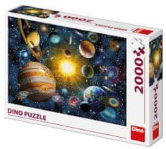 DINO Slnečná sústava 2000 dielikov