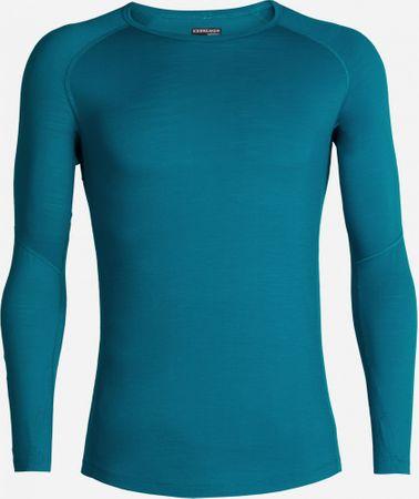 Icebreaker T-shirt męski 150 Zone LS Crewe Turkusowy L