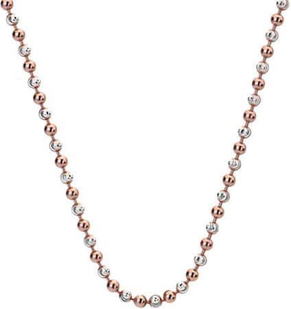 Hot Diamonds Emozioni srebrna in rožnato zlata kroglica 45 CH019 srebro 925/1000