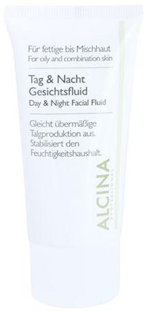 Alcina Płyn codzienny i nocny na (Day & Night Facial Fluid) 50 ml