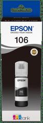 Epson tusz do drukarki 106, czarny (C13T00R140)