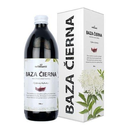 Nefdesanté Baza čierna - 100% šťava z bazy čiernej 500 ml