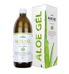 Nefdesanté Aloe gél - 100% šťava z Aloe vera s dužinou 500 ml