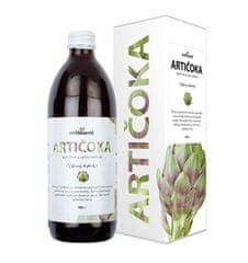Nefdesanté Artičoky - 100% šťava z listov artičoky 500 ml