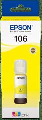 Epson tusz do drukarki 106, żółty (C13T00R440)