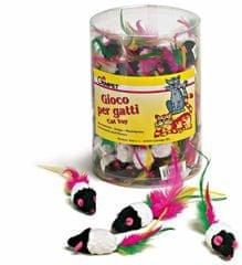 Gimborn Myš s peřím - hračka pro kočky