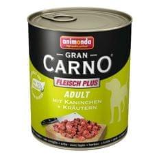 Animonda Grancarno Adult konzerva pro psy králík+bylinky 400g