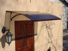 LanitPlast stříška nad dveře LANITPLAST LARUS 160/87 hnědá
