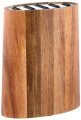 TORO Blok na nože, akátové drevo + nerez